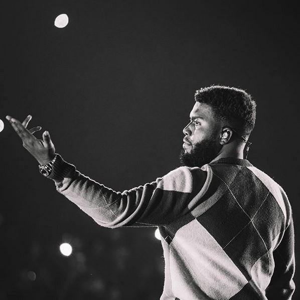9. Khalid – 8 bilhões de streams - Crédito: Reprodução Instagram/33Giga/ND
