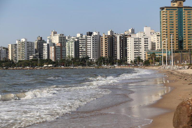 Beira-Mar Norte, em Florianópolis – Foto: Anderson Coelho/ND