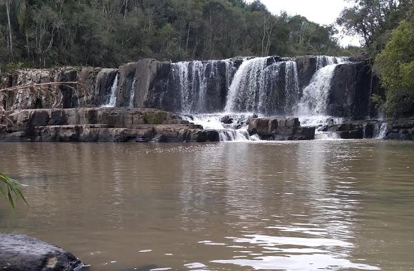 Cascata Rio Verde – Foto: Sidnei Recco/Arquivo pessoal/Reprodução