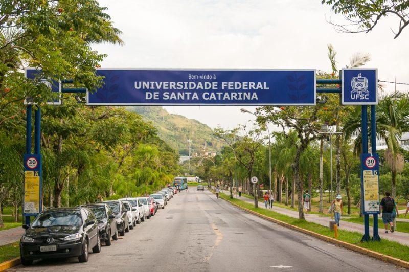 UFSC está há mais de dois meses sem aulas presenciais – Divulgação/UFSC