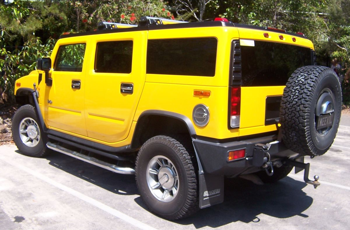 Hummer H2 - Foto: By OSX - Own work, Public Domain, Link - Foto: By OSX - Own work, Public Domain, Link/Garagem 360/ND
