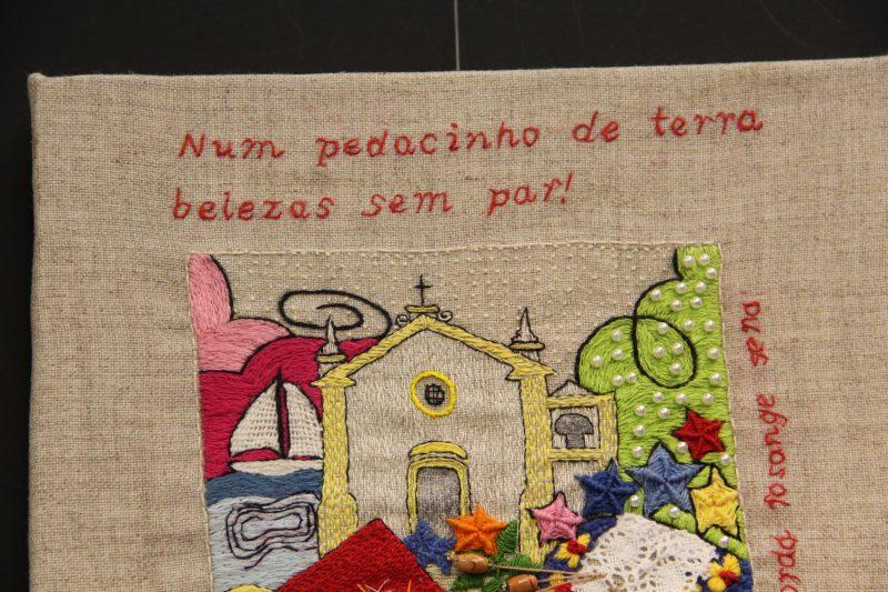 """Exposição """"Bordando Florianópolis"""" reúne trabalhos de dez bordadeiras - Camila Saplak/Divulgação"""