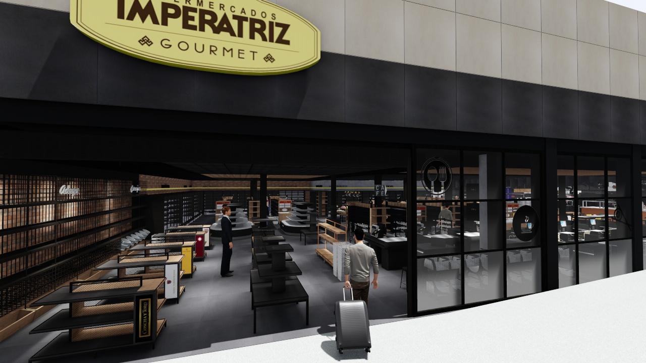 Supermercado Imperatriz Gourmet Airport inaugura nesta quinta-feira (14) - ND Mais