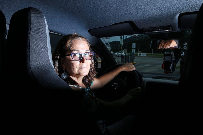 Janete Teixeira defende o empoderamento feminino e a denúncia dos agressores – Foto: Anderson Coelho/ND