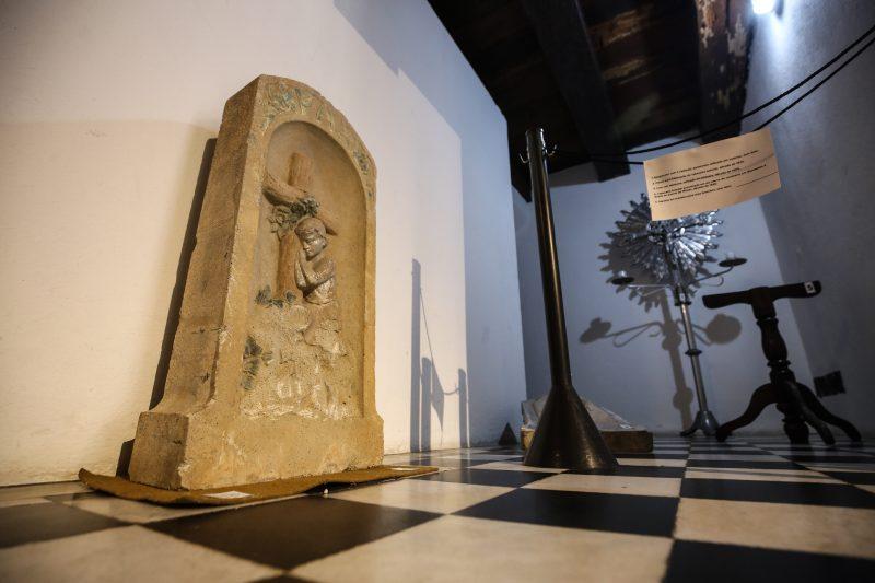 Mostra é interativa e apresenta parte do acervo do MHaas (Memorial Funerário Mathias Haas) - Anderson Coelho/ND