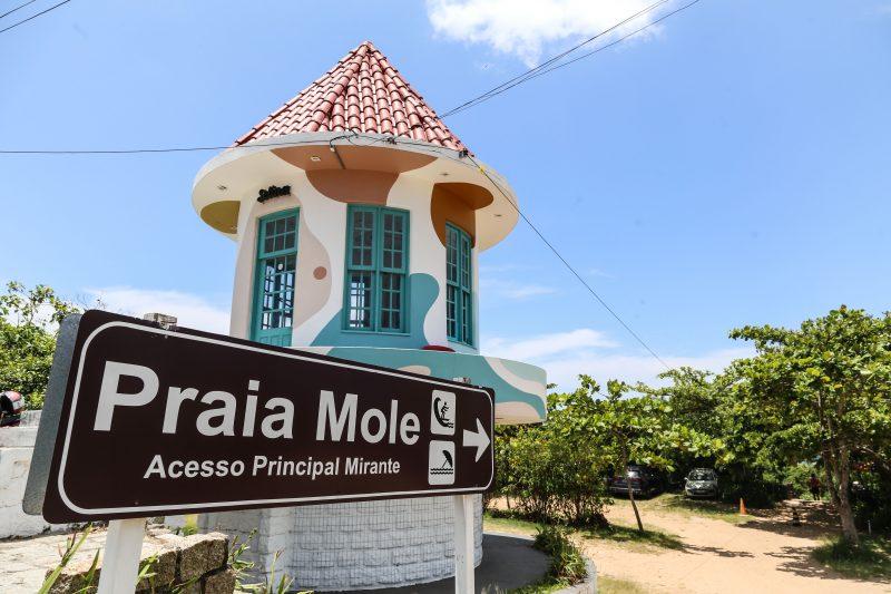 Corpo de homem foi encontrado na Praia Mole, no Leste da Ilha de Santa Catarina – Foto: Anderson Coelho/Arquivo/ND