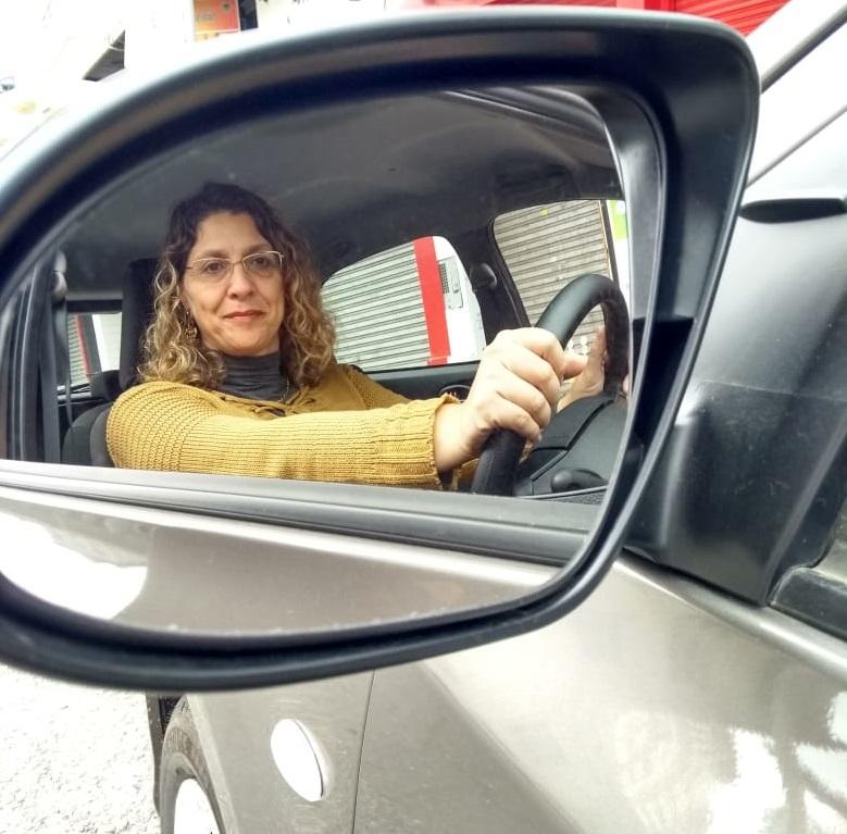 Rose Cuareli transformou as agruras diárias em oportunidade de negócios criado aplicativo exclusivo para transportar mulheres – Foto: Rose Cuareli/Divulgação/ND