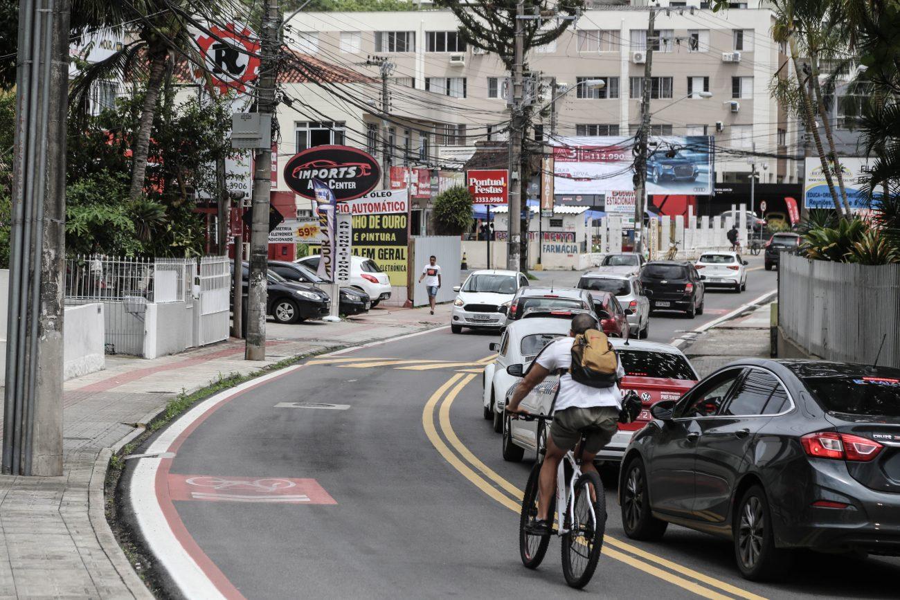 De acordo com o professor Reinaldo Lohn, a urbanização da região da rua Delminda Silveira tem relação com a inauguração da Penitenciária de Florianópolis em 1930. - Anderson Coelho/ND
