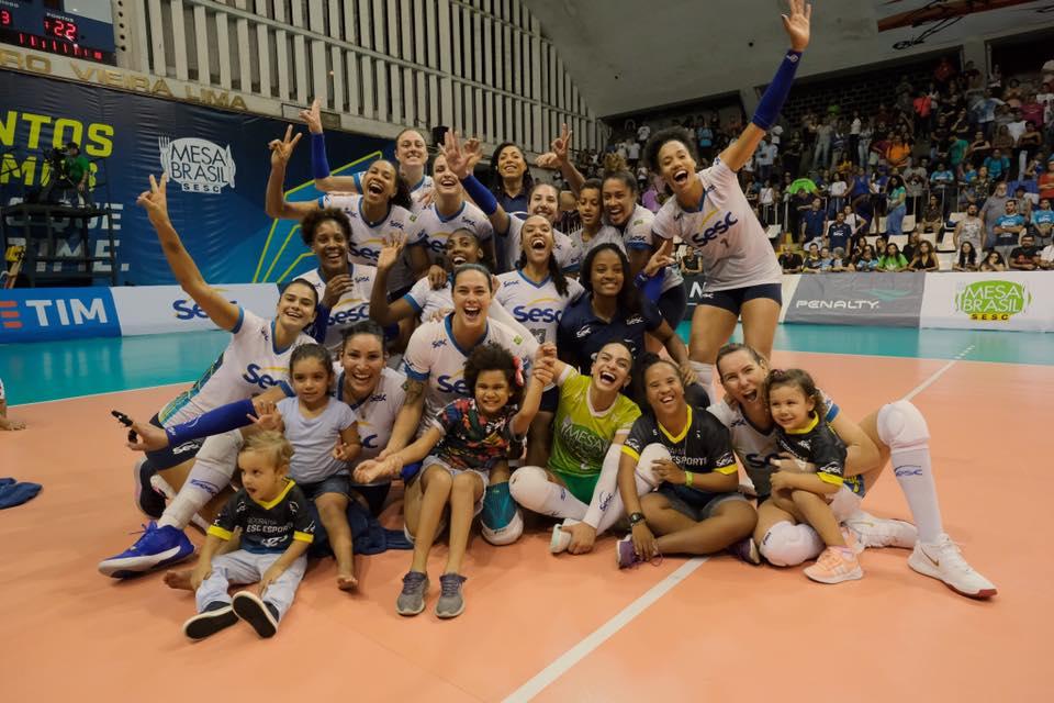 São Paulo/Barueri vira sobre o Osasco e conquista o Paulista Feminino de Vôlei - ND Mais - Esportes