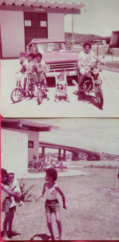 Na foto Adriana está acompanhada dos irmãos Hudson, Andréia e da mãe Maria Jaci Vilela – Foto: Arquivo pessoal/Divulgação/ND