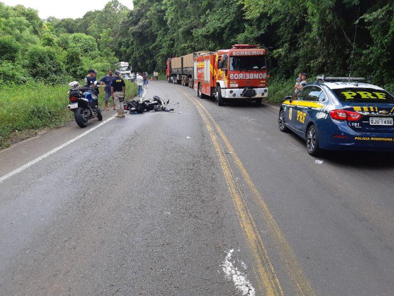 Segundo a PRF, BR-282 também está na lista das rodovias mais perigosas – Foto: PRF/Divulgação/ND