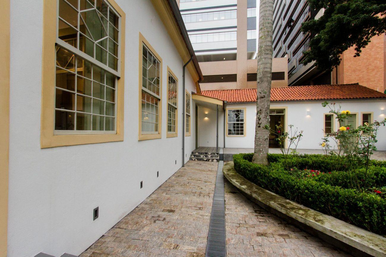 """Área onde estava a """"casa rosa"""", de número 1792, na rua Bocaiuva, foi adquirida pelo Ministério Público/SC, e agora se torna um Centro de Memória - Foto Flavio Tin/ND"""