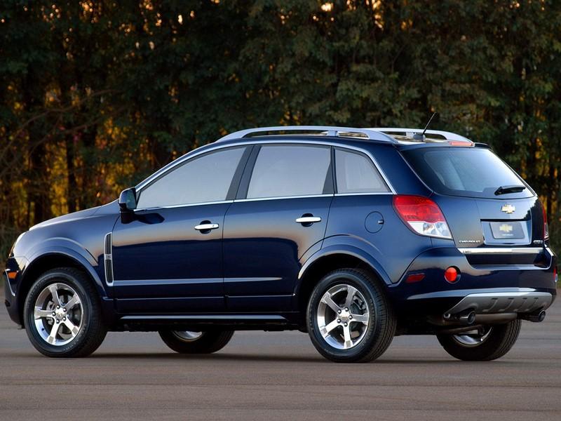 Chevrolet Captiva 3.0 V6 AWD 2010/2011 - R$ 35.800 - Foto: Divulgação - Foto: Divulgação/Garagem 360/ND