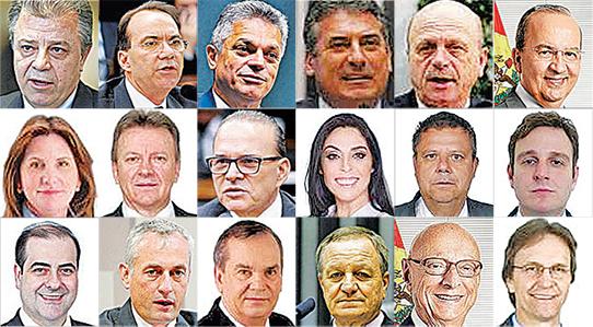 Deputados catarinenses – Foto: Divulgação/ND