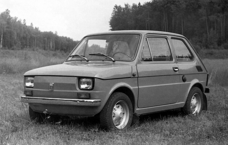Fiat 126: embora tenha sido projetado pela marca italiana, ele fez sucesso na Polônia - Foto: Divulgação - Foto: Divulgação /Garagem 360/ND