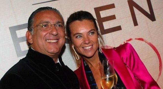Galvão Bueno e a esposa Desirée Buenos – Foto: Instagram/Reprodução