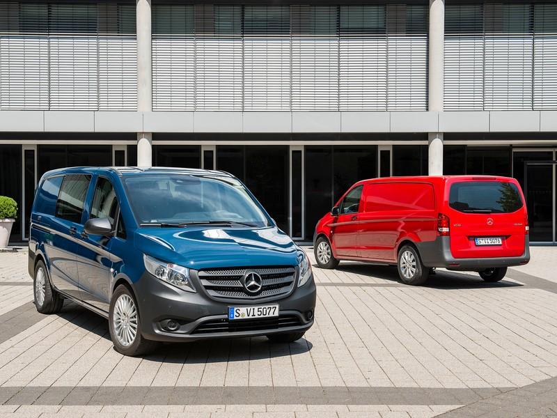 Mercedes-Benz Vito - Foto: Divulgação - Foto: Divulgação/Garagem 360/ND