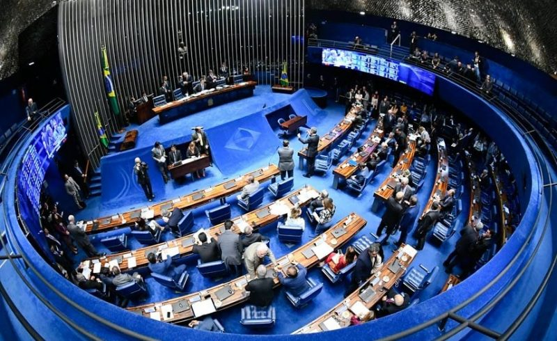 O texto segue para o plenário do Senado – Foto: Marcos Oliveira/Agência Senado