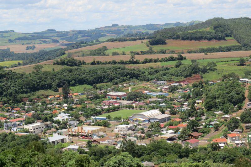 Município de Santiago do Sul, o menor de SC. Foto: divulgação/prefeitura de Santiago do Sul
