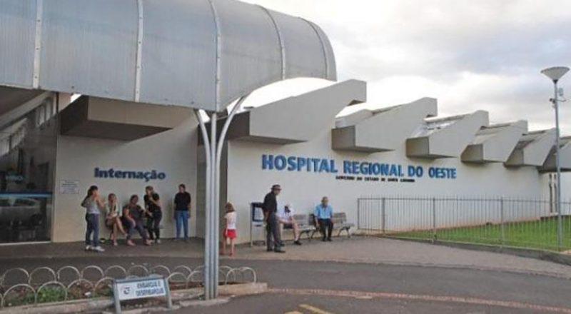 Jovem foi transferido para o HRO de Chapecó no dia 15 de abril – Foto: Divulgação/HRO