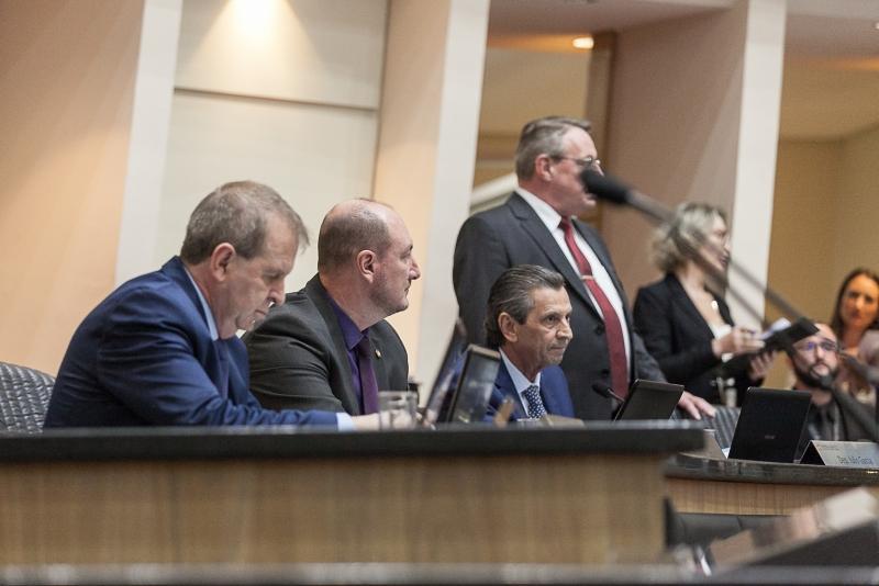 Anúncio foi feito pelo presidente da Alesc, na sessão desta terça (3), após reunião com os líderes das bancadas e blocos – Foto: Agência Alesc/Divulgação/ND