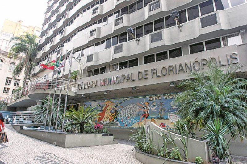 Prédio da Câmara de Florianópolis