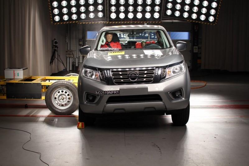 A picape Nissan Frontier conseguiu quatro estrelas para adultos e crianças - Foto: Divulgação - Foto: Divulgação/Garagem 360/ND