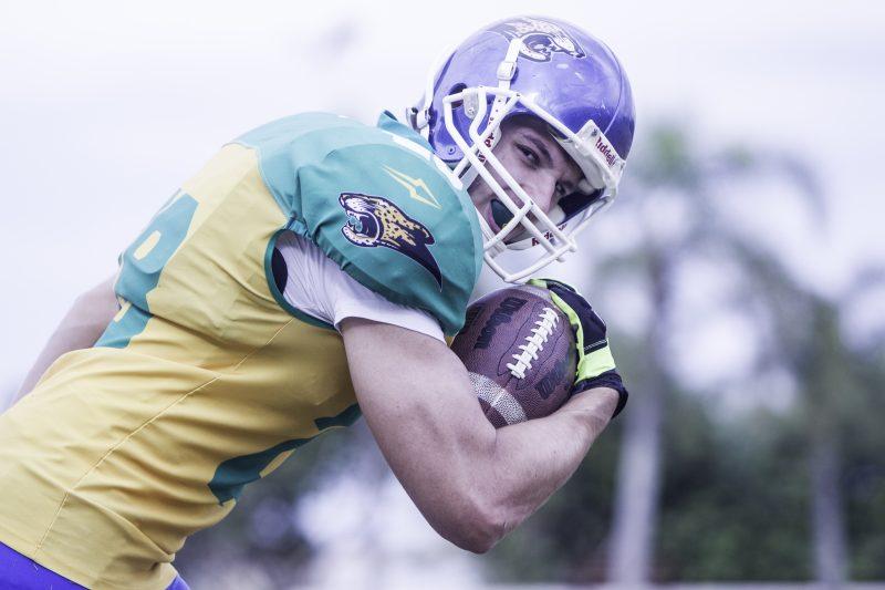 Paulo Torquato, atleta do Istepôs, defendeu a seleção brasileira – Foto: Marco Santiago/arquivo/ND