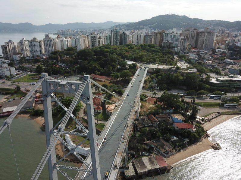 Consulta quer coletar sugestões para uso turístico da ponte e de seu entorno – Foto: Leonardo Sousa/ Divulgação/PMF/ND