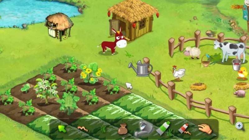 Colheita Feliz (2009) – um clássico do Orkut, as pessoas costumavam passar horas plantando sementes virtuais e cuidando de animais como ovelhas, vacas e galinhas para fazer com que sua fazenda crescesse. Hoje o jogo migrou para o Facebook, mas não é mais tão aclamado. - Crédito: reprodução da internet/33Giga/ND