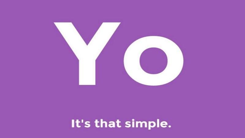 """Yo (2015) – com uma proposta bastante peculiar, a única função do aplicativo era enviar um """"Yo"""", uma saudação em inglês, para os amigos. Apesar dos investimentos milionários que recebeu e ter sido considerada por especialistas como uma nova forma de se comunicar, a ideia não pegou por muito tempo. - Crédito: reprodução da internet/33Giga/ND"""