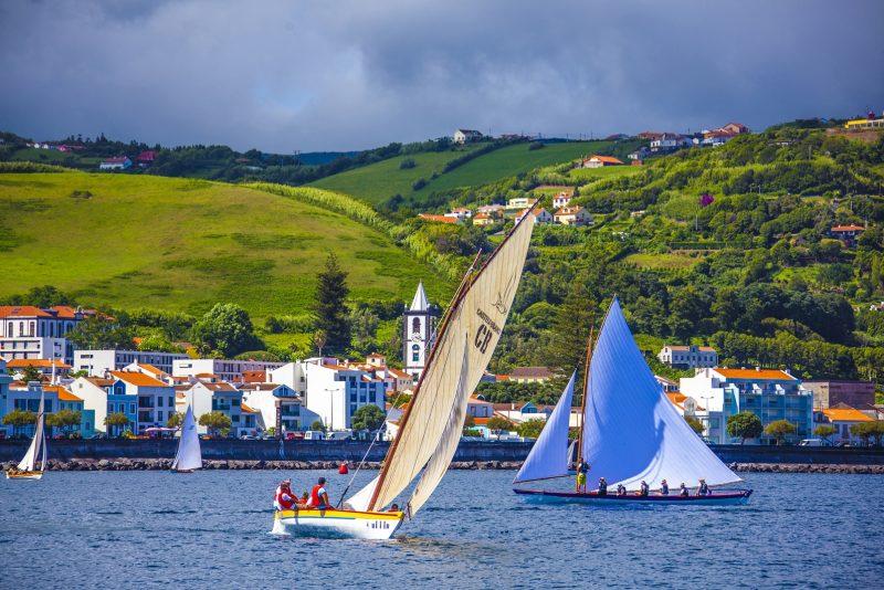 Semana do Mar, na cidade de Horta, Ilha do Faial – Foto: Joel Pacheco/Divulgação/ND
