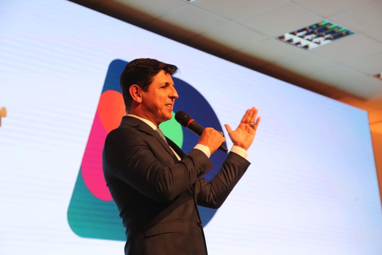 """André Dias, superintendente da Rede Record: """"É importante que todos abracem esse desafio. É necessário que as pessoas acreditem na força da TV aberta"""" - Anderson Coelho/ND"""