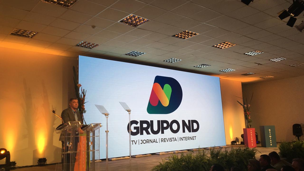 Prefeito de Florianópolis Gean Loureiro também discursou no lançamento da novidade - Anderson Coelho/ND
