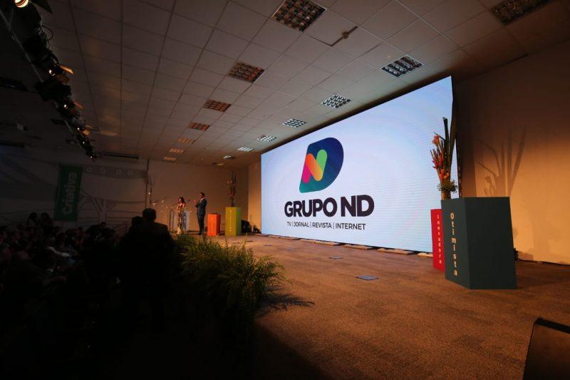 A nova identidade visual do Grupo ND apresentada nesta segunda (2) – Foto: Anderson Duarte/ND