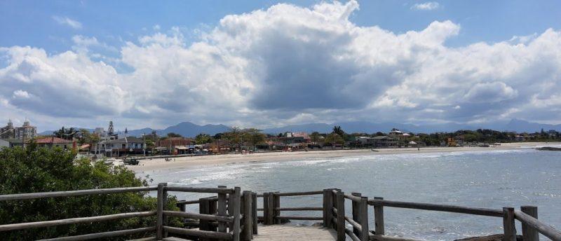 Praia de Itapoá, em Itapema – Foto: Reprodução