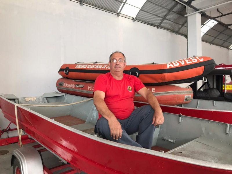 Geremias foi um dos bombeiros que atuou no resgate das vítimas na enchente de 1995 – Foto: Luana Amorim/ND