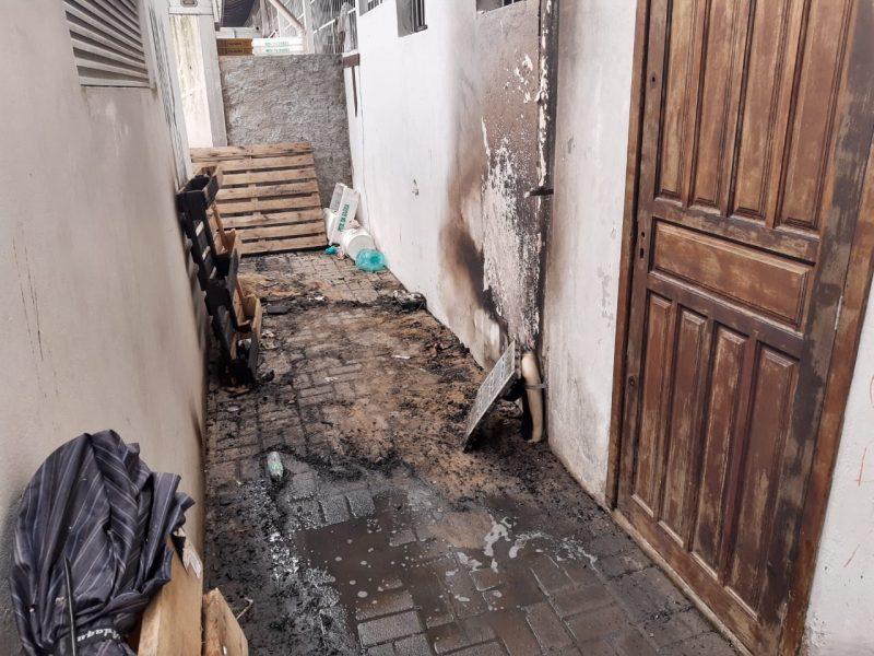 A estrutura do Mercado não foi afetada e apenas um local isolado sofreu com alguns danos. - Juliano Masselai/NDTV