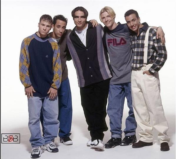 Backstreet BoysSucesso nos anos 90, o Backstreet Boys está de volta. A turnê de retorno do quinteto americano fará shows em Uberlândia, Rio de Janeiro e São Paulo. - Reprodução/Instagram