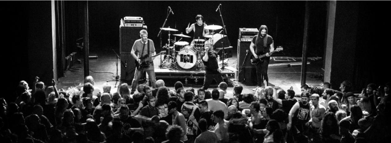 Black FlagA banda de funk americana fará uma única apresentação no Brasil em março de 2020. O show acontece em São Paulo com censura de 16 anos. - Divulgação/ND