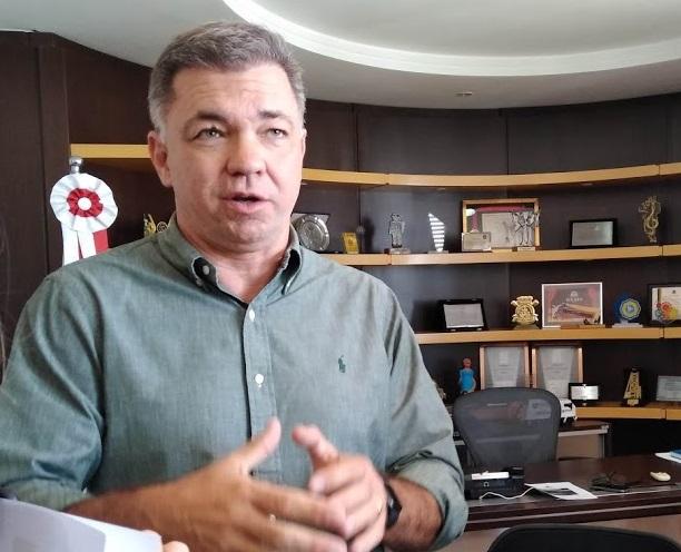 """Gean Loureiro acredita que a decisão sobre a situação das eleições deva ser """"em comum acordo com as autoridades em saúde"""" – Foto: Arquivo/Andréa da Luz/ND"""
