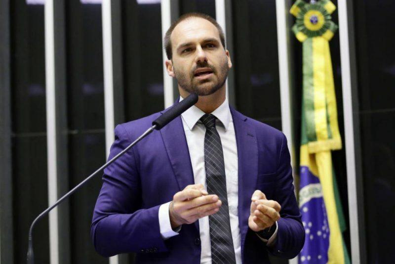 Eduardo Bolsonaro em discurso