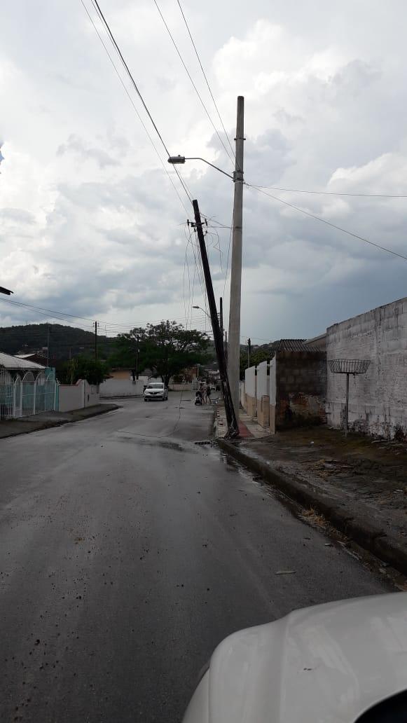 Danos em Forquilhinhas, São José - Divulgação/ND