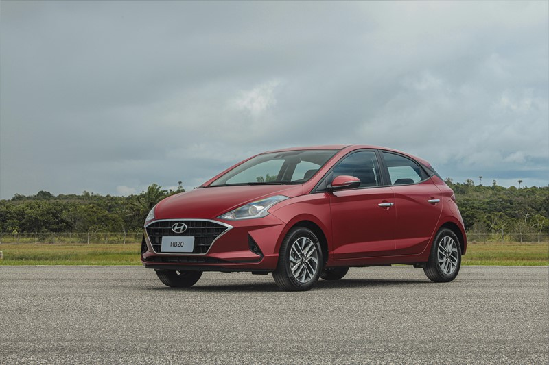 Hyundai HB20 Sense 1.0: R$ 46.490 - Foto: Divulgação - Foto: Divulgação/Garagem 360/ND