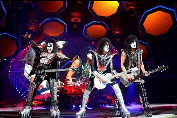 KissA turnê de despedida do Kiss no Brasil terá seis shows. Os músicos lendários passarão por Porto Alegre, Curitiba, São Paulo, Ribeirão Preto, Uberlândia e Brasília. - Reprodução/Instagram