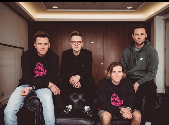 McFlyTom, Danny, Dougie e Harry voltaram a ativa com a banda McFly. A turnê que celebra a volta da banda chega ao Brasil em março, com apresentações em Belo Horizonte e Rio de Janeiro. - Reprodução/Instagram