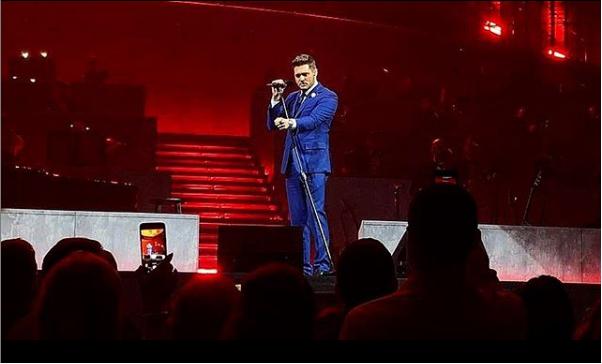 """Michael BubléO cantor Michael Bublé percorrerá três cidades brasileiras com a turnê """"An Evening With Michael Bublé"""". As apresentações acontecem em Curitiba (23/10), São Paulo (25/10) e Rio de Janeiro (28/10) - Reprodução/Instagram"""