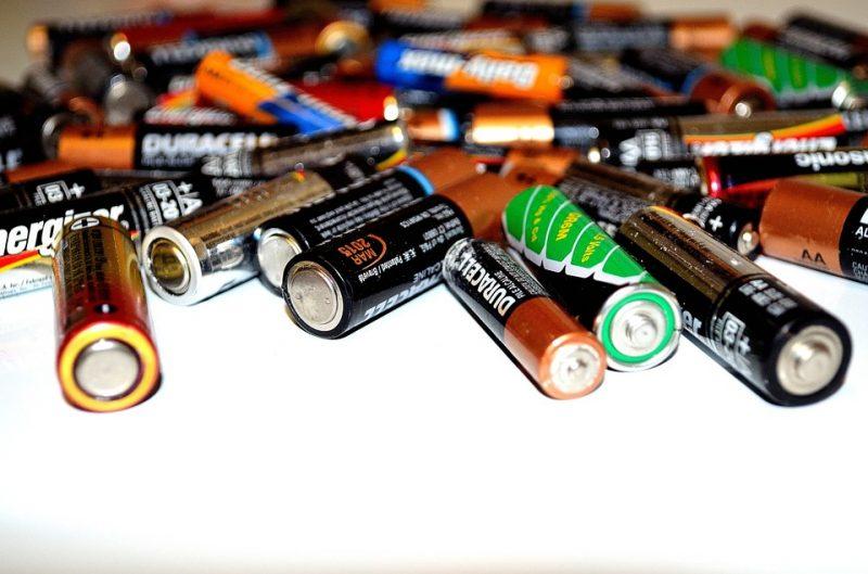 Pilhas estão entre os produtos a serem recolhidos pela logística reversa – Foto: Divulgação/Pixabay