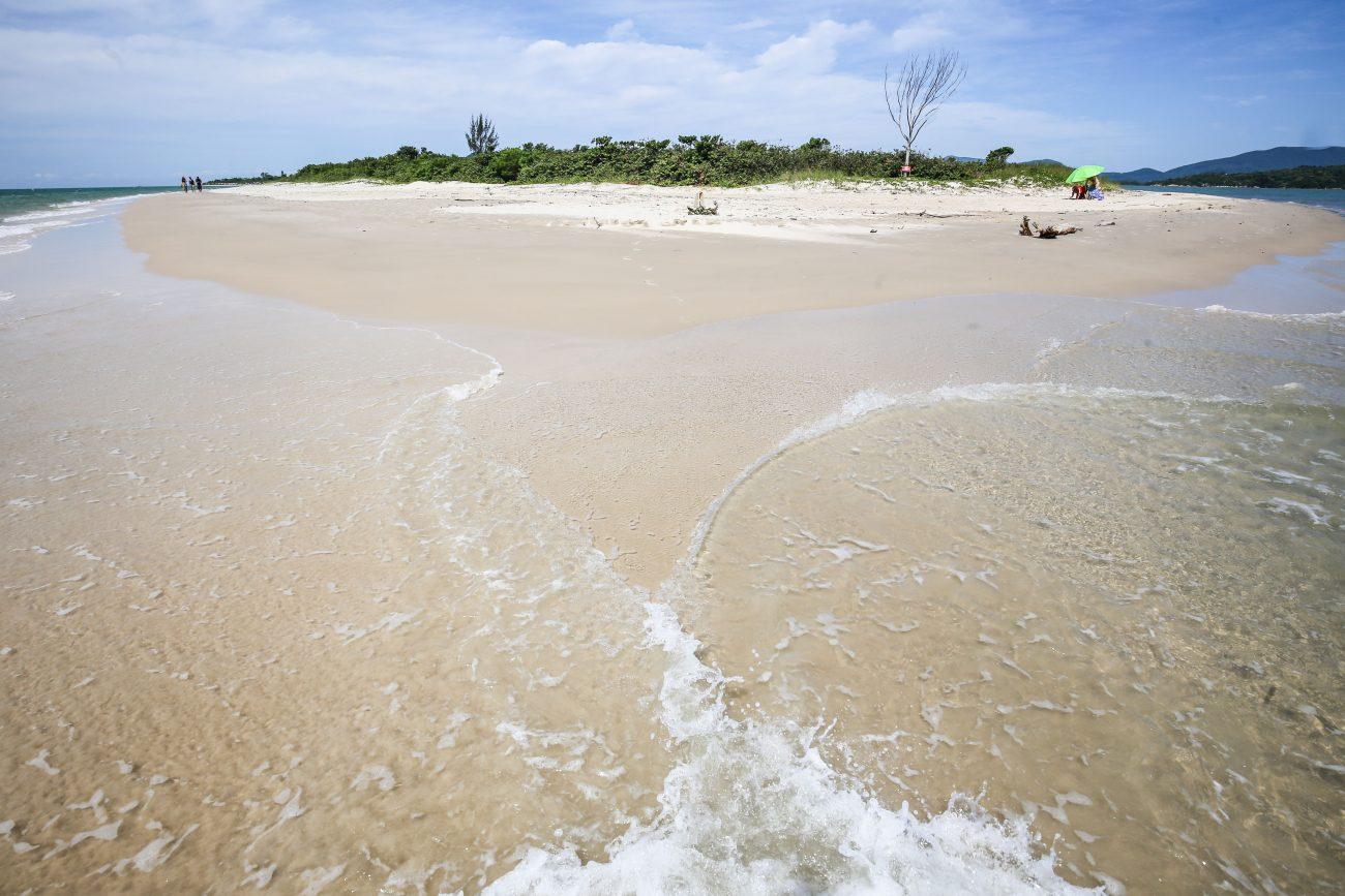 Praia da Daniela, no Norte da Ilha - Anderson Coelho/ND