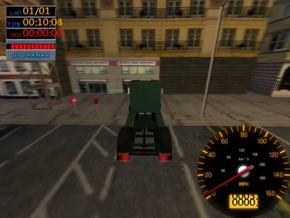 Piores jogos já lançados, de acordo com o GamesRadar: 1. Big Rigs: Over the Road Racing (2003) - Crédito: Divulgação/33Giga/ND